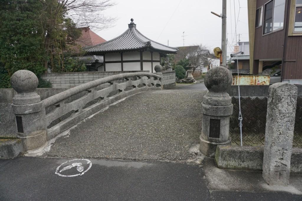 西林寺 山門前橋