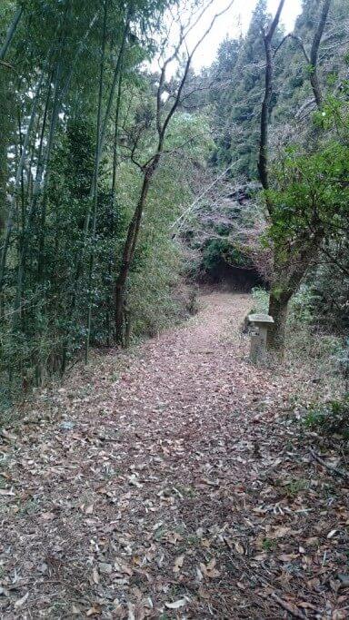 三坂峠 未舗装遍路道
