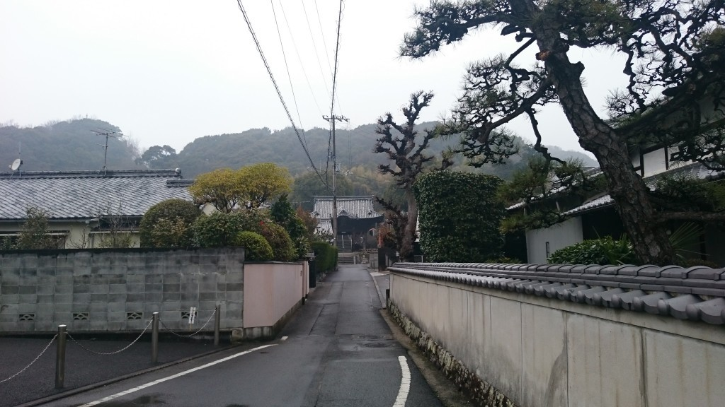 浄土寺 参道 山門