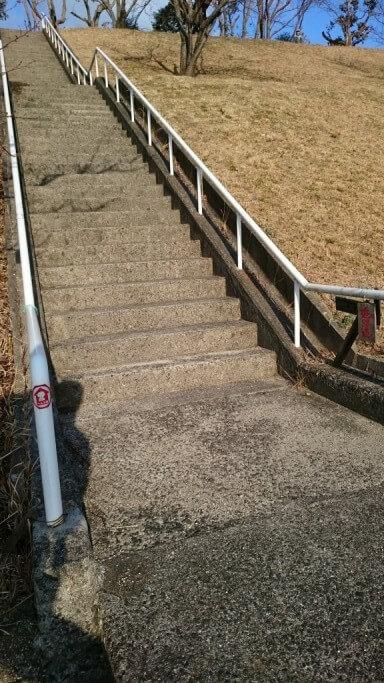 延命寺 大谷霊園 階段 旧遍路道