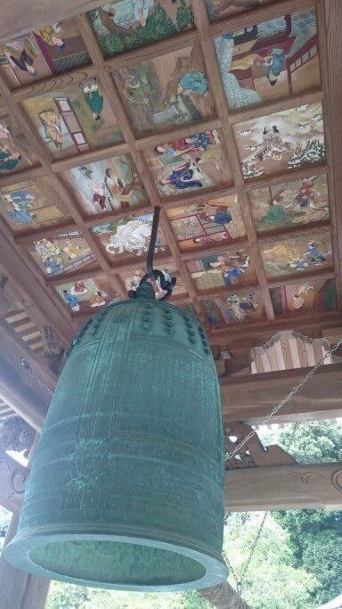 繁多寺 鐘楼 天井画