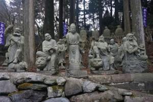 雲辺寺 五百羅漢 動物