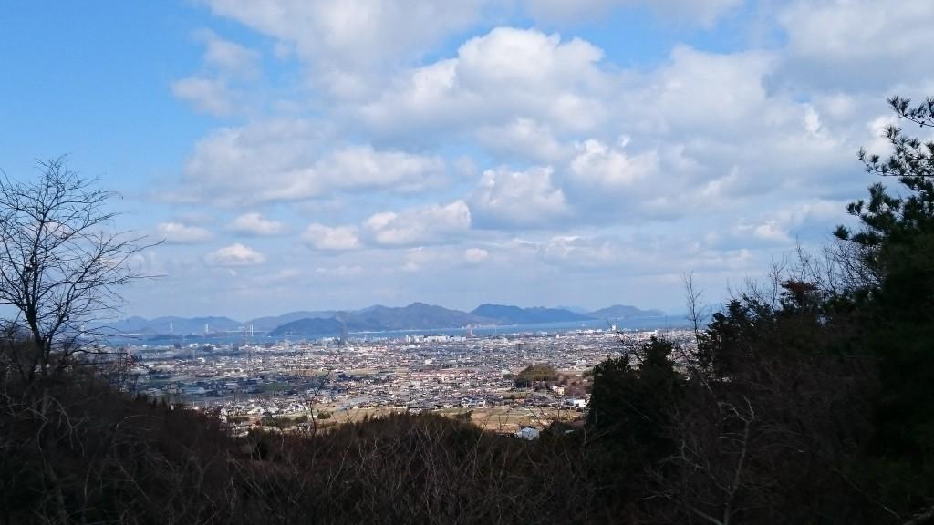 仙遊寺 作礼山 瀬戸内海 景色