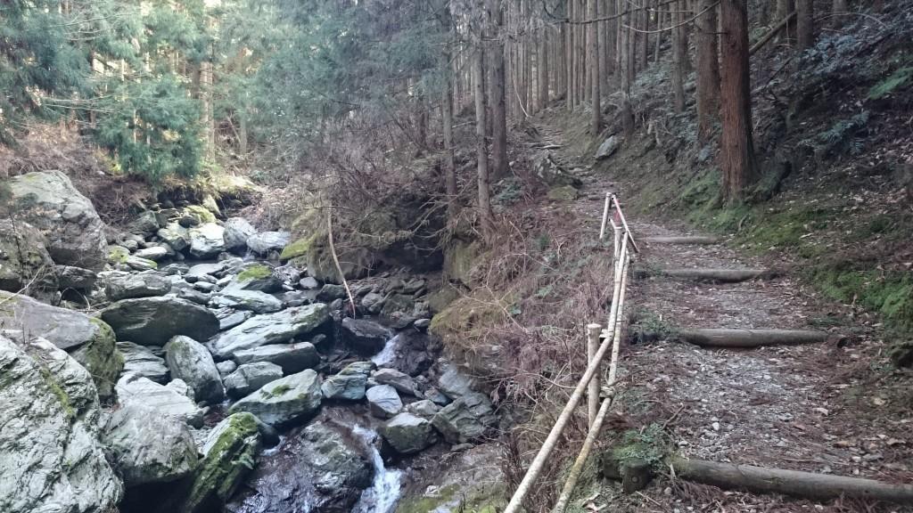 石鎚山 登山道