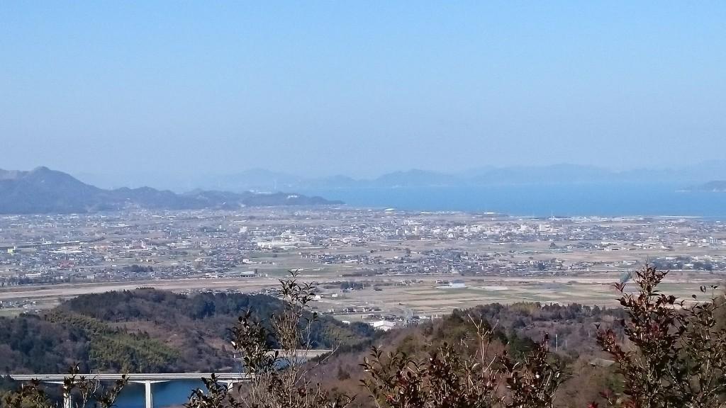 横峰寺 下り遍路道 道前平野 瀬戸内海 大谷池 しまなみ海道