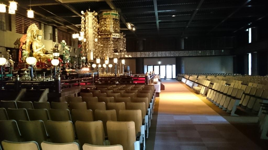 香園寺 大聖堂 2階講堂 大日如来坐像