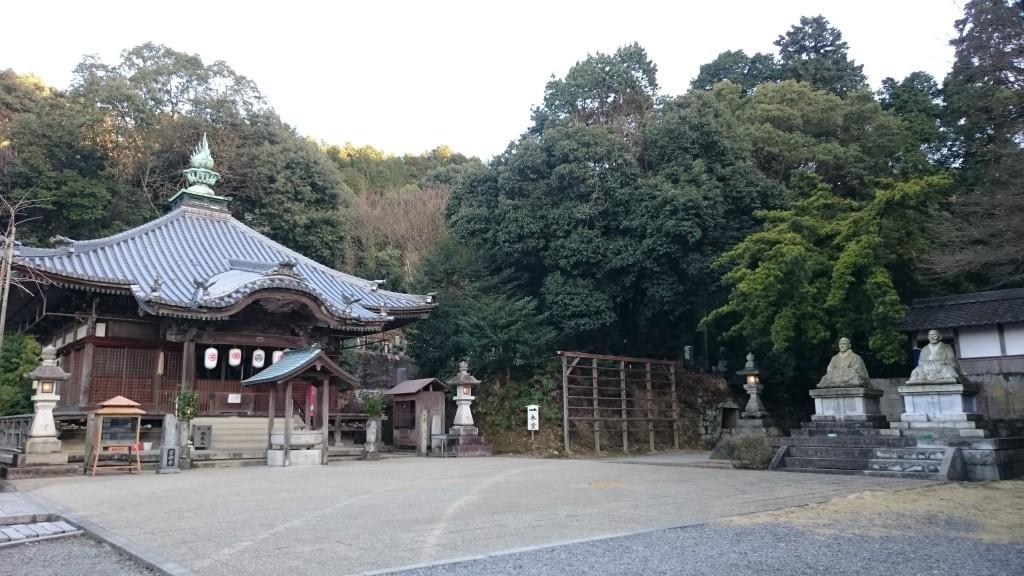 前神寺 境内 大師堂