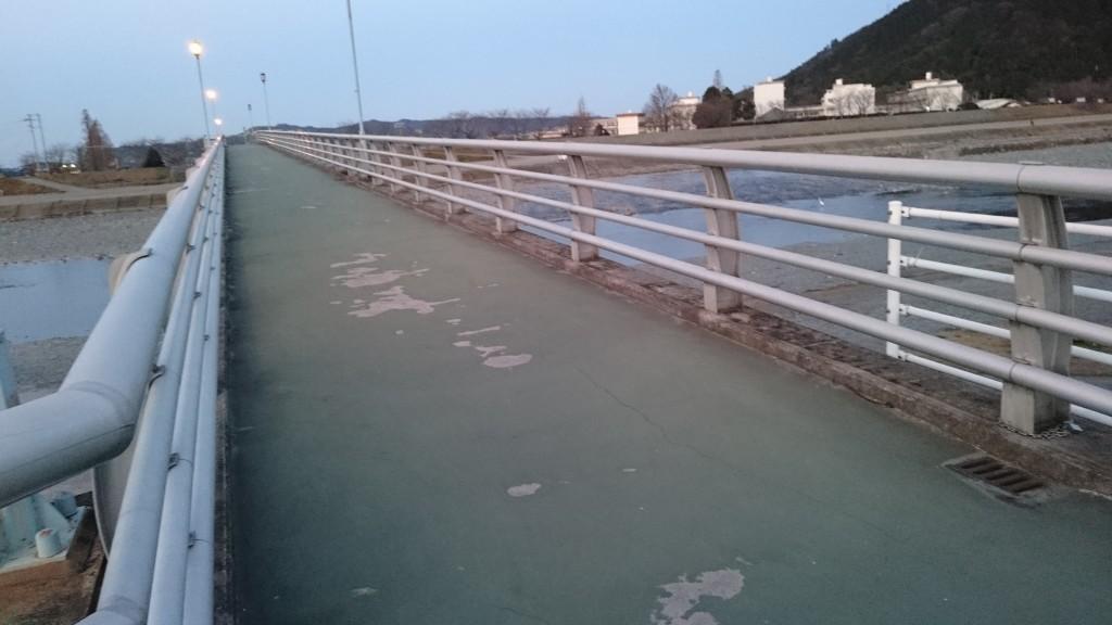 西条市 伊曽の橋 歩行者専用橋