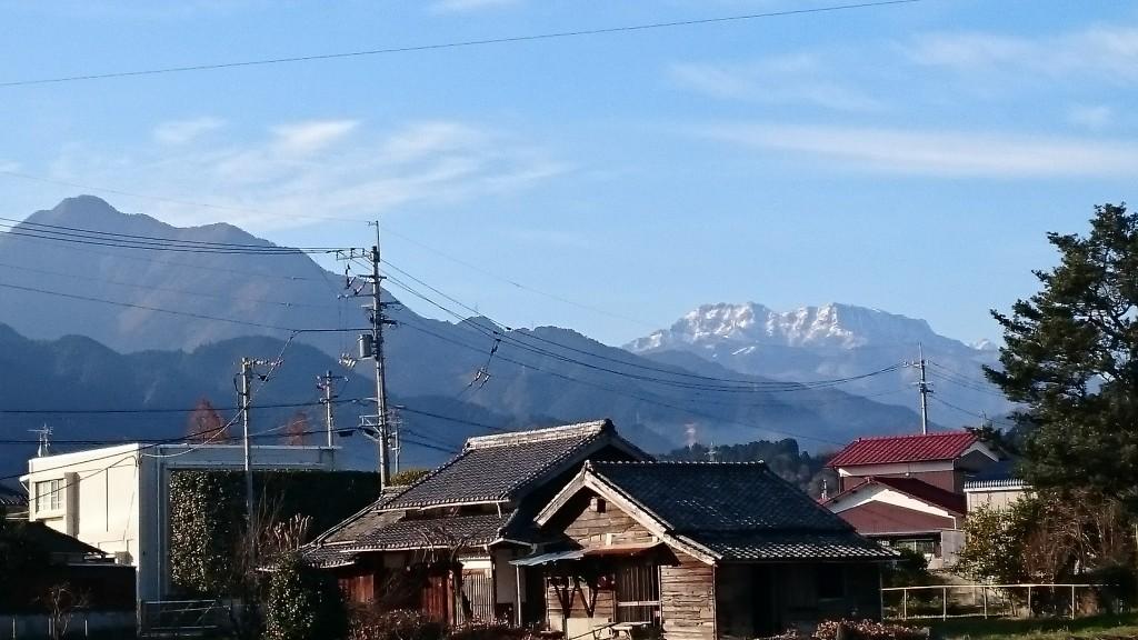 西条市 石鎚山