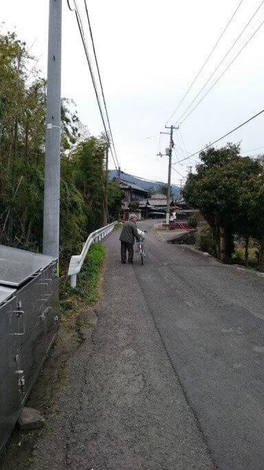 土居町 旧讃岐街道 おじいちゃん
