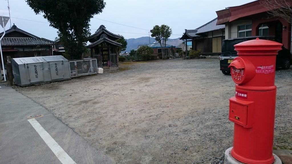 伊予土居 小林集会所 丸型ポスト
