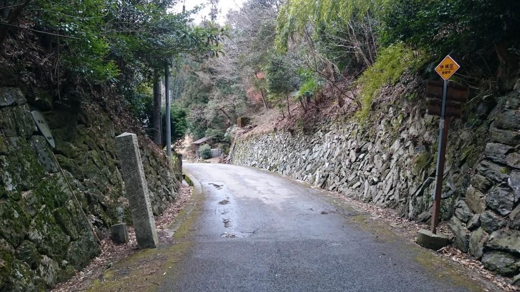 境目峠 愛媛県徳島県県境