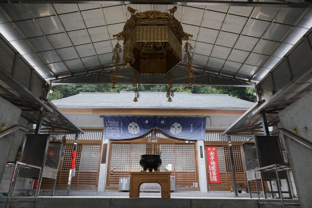 神恵院 本堂 参拝スペース