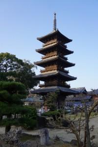 本山寺 五重塔