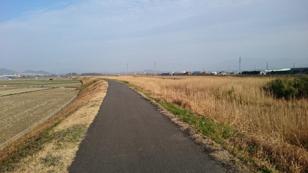 財田川 遍路道