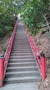 弥谷寺 百八階段