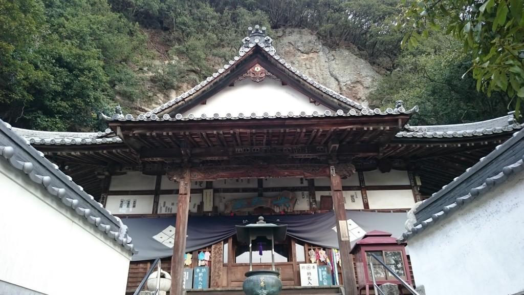 弥谷寺 本堂