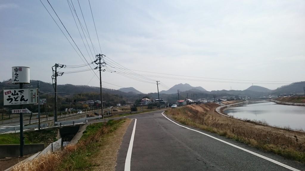 坂出市 綾川沿い遍路道