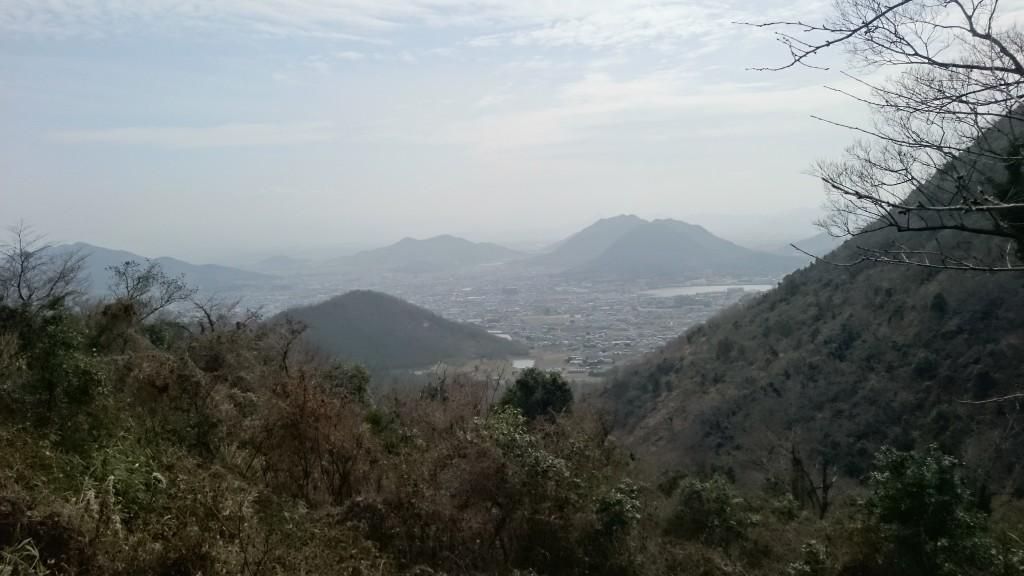 白峯寺への遍路ころがし 景色