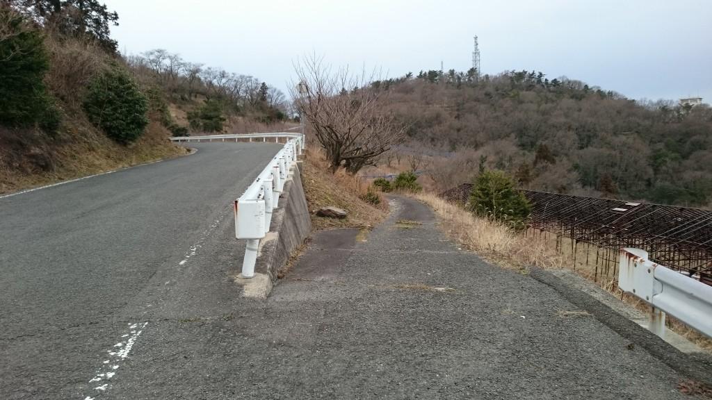 根香寺からの山下り道