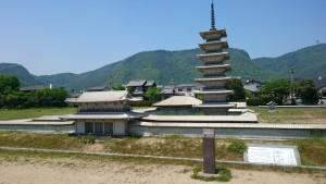 讃岐国分寺跡 復元模型