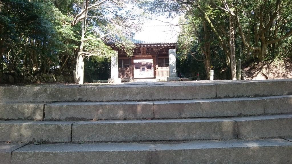 屋島寺 山門