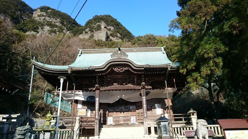 八栗寺 本堂 五剣山