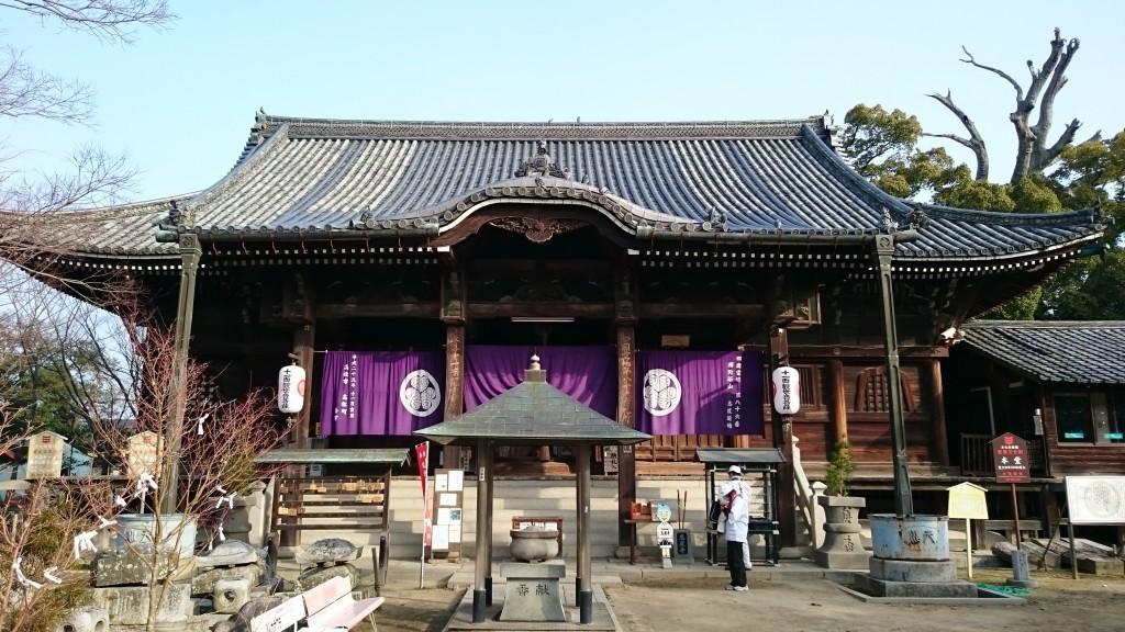 志度寺 本堂