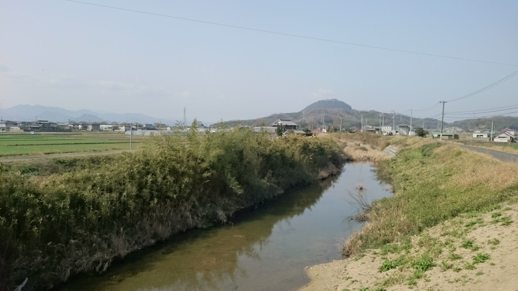 鴨部川 川沿い遍路道