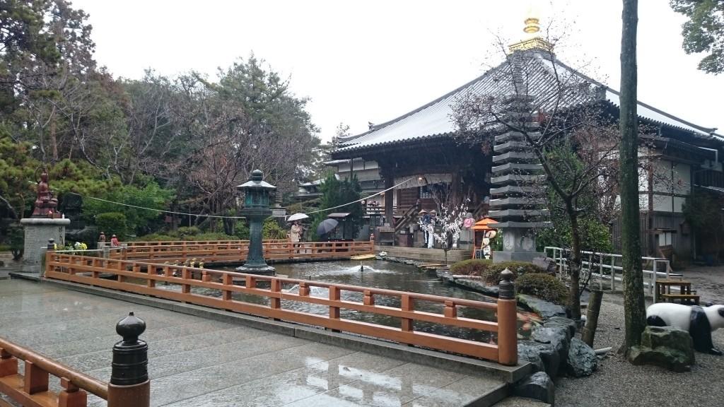 ワープしてたどり着いた1番札所「霊山寺」のこの日は大雨。最後の最後で天気は味方してくれませんでしたが、お寺は発願時と変わらぬ姿で迎えてくださいました。