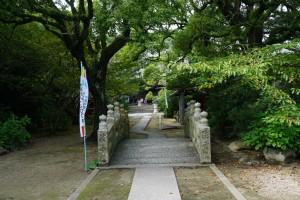 海岸寺奥の院 境内 石橋