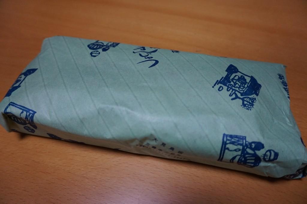 鳥坂まんじゅう 包み紙
