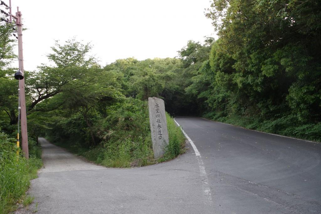 屋島長崎の鼻への道