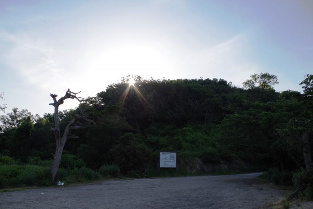 長崎の鼻駐車場