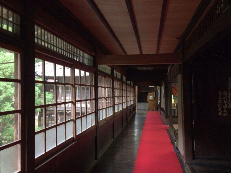 仙龍寺 2F廊下