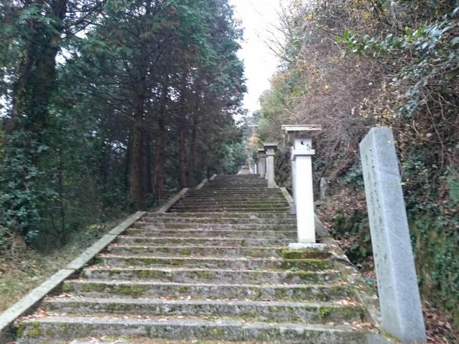 西行法師の道 階段