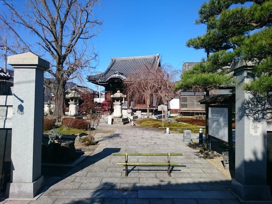 洲崎寺 入口