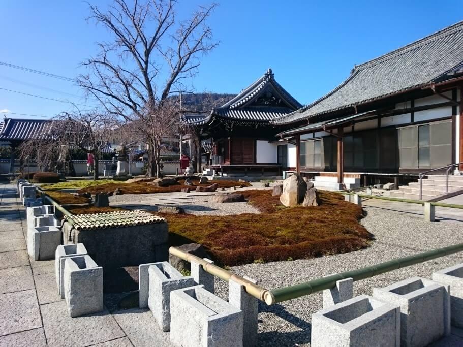 洲崎寺 庭園