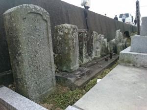 広瀬公民館 墓地 遍路墓