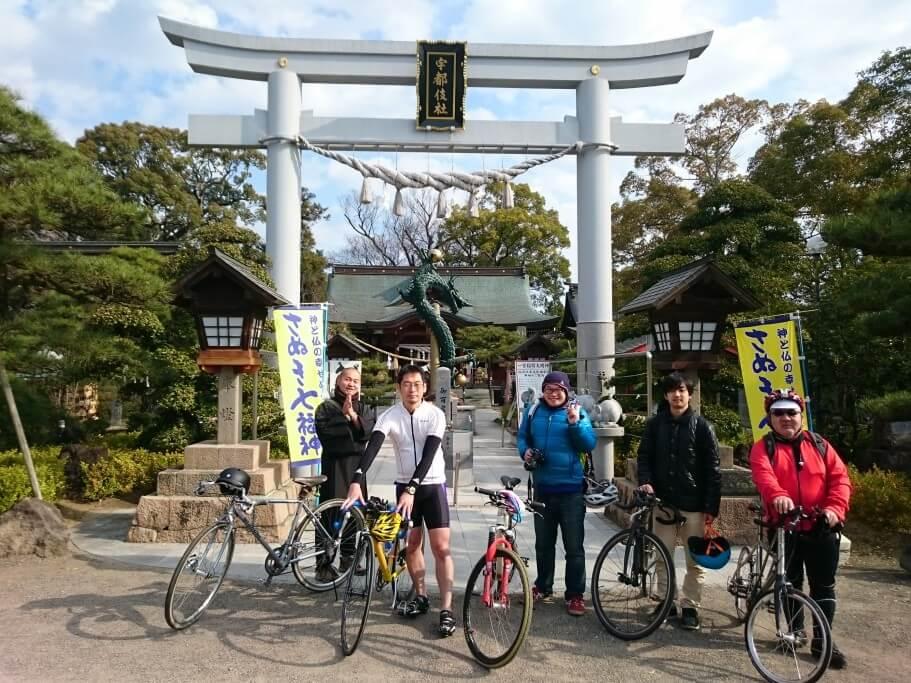 クラウズサイクリング田村神社