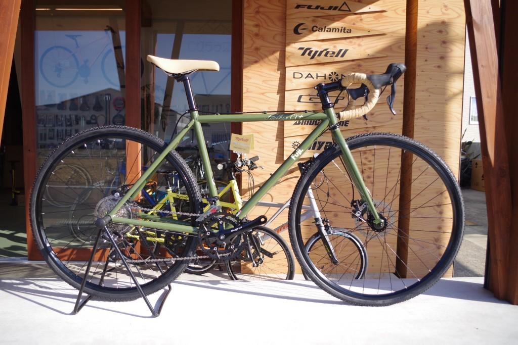 自転車 フジフェザーCX+