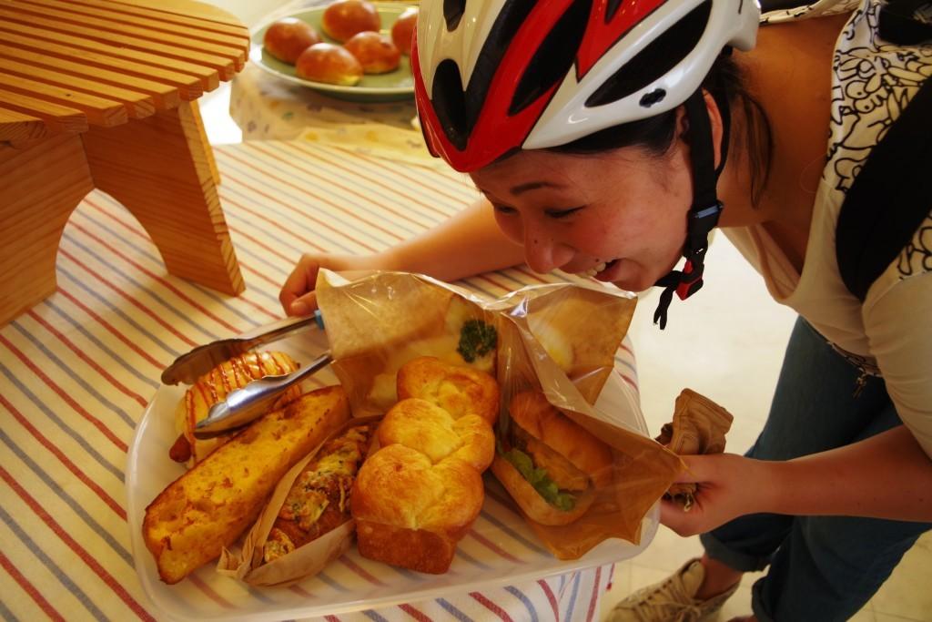 クラウズサイクリング パン購入2