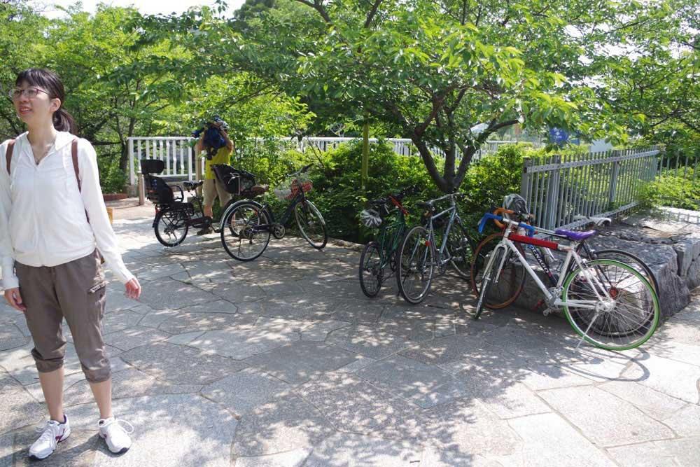 クラウズサイクリング 仏生山公園到着