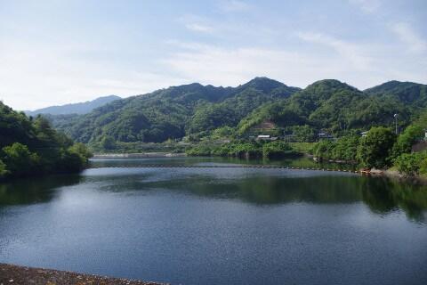大窪寺への自転車旅 前山ダム