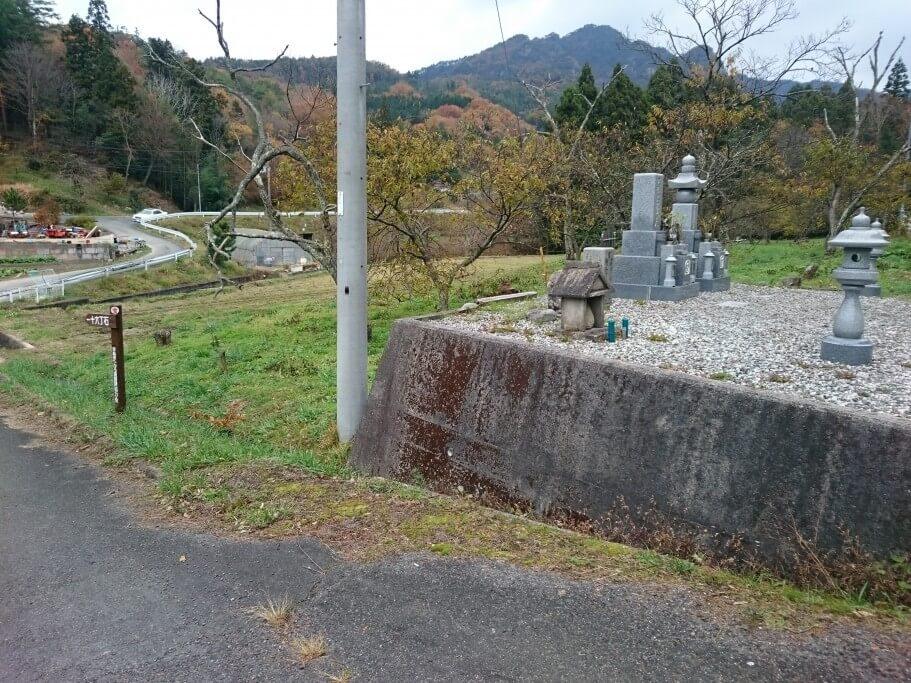 大窪寺 旧遍路道