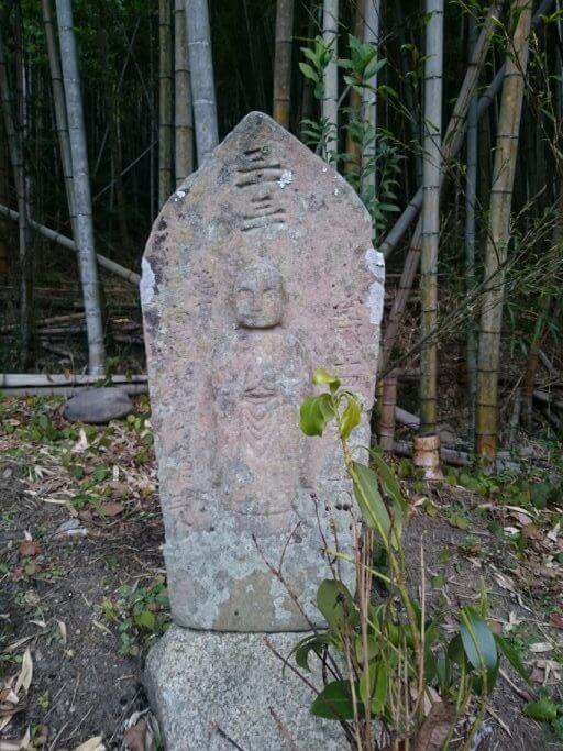 大窪寺 丁石 「三十三丁」