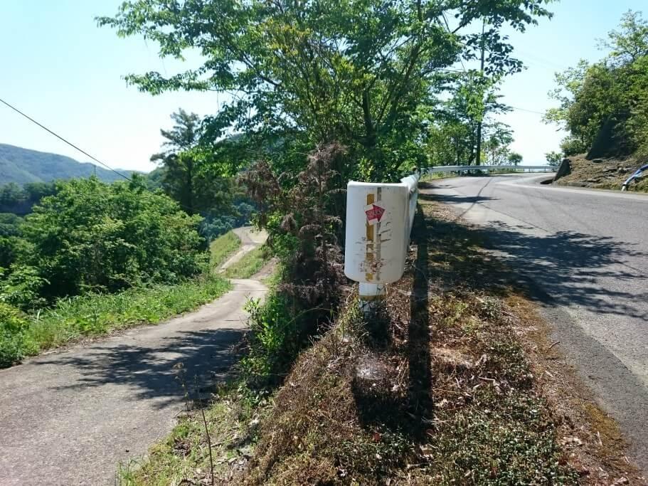 大瀧寺遍路道 迷いやすいポイント