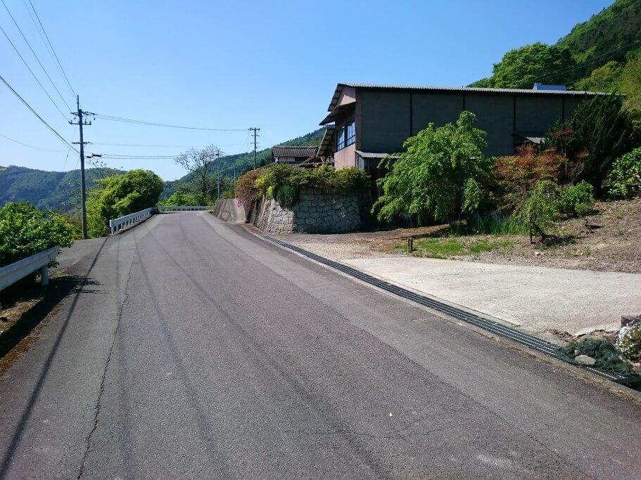 大瀧寺遍路道 道のり1