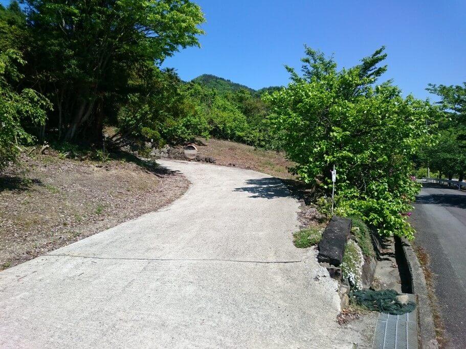 大瀧寺遍路道 道のり2