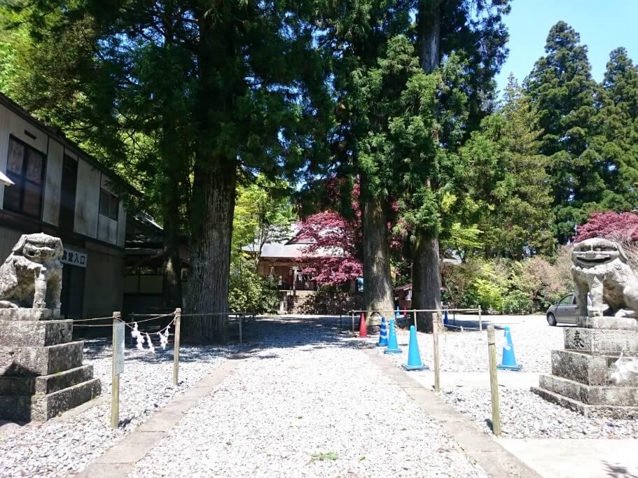 西照神社 狛犬